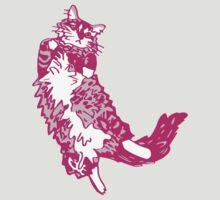 Mona Bear Pink by Ann Kilzer