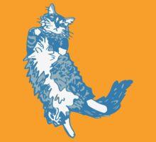 Mona Bear Blue by Ann Kilzer