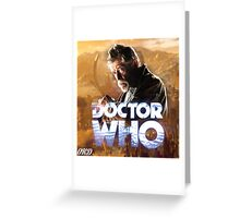 Doctor Who 50th Anniversary - War Doctor Greeting Card