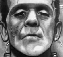 Boris Karloff as Frankenstein's Monster Sticker