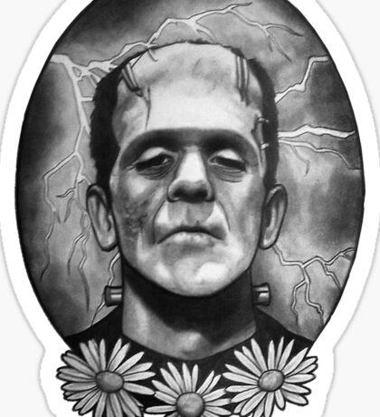 Boris Karloff as Frankenstein's Monster Sticker