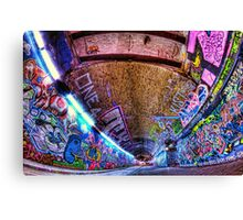 Leake Street, Waterloo, London Canvas Print