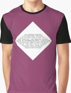 CW Shows Graphic T-Shirt