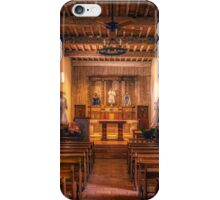 Mission San Juan Capistrano Chapel iPhone Case/Skin