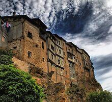 Casas colgadas in Frias, Spain by vribeiro