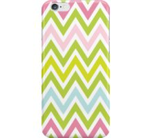Chevrons, Zigzag Colorful Background iPhone Case/Skin