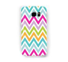 Chevrons, Zigzag Colorful Background Samsung Galaxy Case/Skin