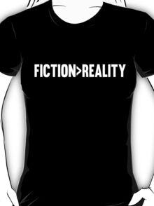 Fiction > Reality - WHITE T-Shirt