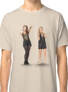 Tina and Amy; Sisters Classic T-Shirt