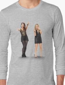 Tina and Amy; Sisters Long Sleeve T-Shirt