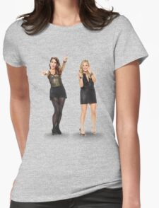 Tina and Amy; Sisters Womens Fitted T-Shirt