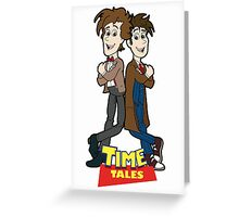 Time Tales Greeting Card