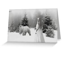 Cold Play.... Greeting Card