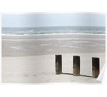 Findorn Beach Poster