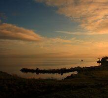 Lough Neagh At Ardboe by Adrian McGlynn