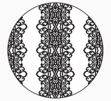 Lace Embroidery Design Kids Clothes
