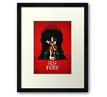 Ours is The Filth and The Fury Framed Print