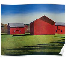 Chagrin Valley Barns Poster