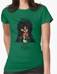 Ours is The Filth and The Fury Womens Fitted T-Shirt