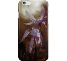 Wilting flowers iPhone Case/Skin