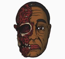Gus Fring Face Off by AVirileEgo
