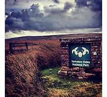 Welcome to the Yorkshire Dales Photographic Print