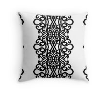 Lace Embroidery Design Throw Pillow
