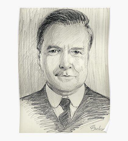 John Bates of Downton Abbey Poster