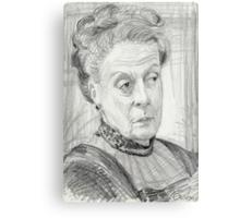 Countess Violet Crawley of Downton Abbey Metal Print