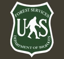 US Bigfoot Service T-Shirt by thebigfootstore