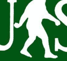 US Bigfoot Service  Sticker