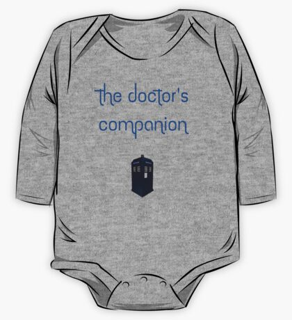 The Doctor's Companion One Piece - Long Sleeve