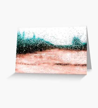 Icy Tones Greeting Card
