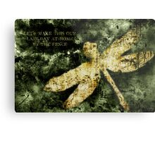 Coheed and Cambria Dragonfly Poster Metal Print