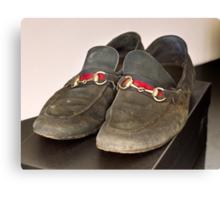 Billionaire Genshiro Kawamoto: Big Shoes To Fill.2 Canvas Print
