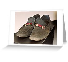 Billionaire Genshiro Kawamoto: Big Shoes To Fill.2 Greeting Card