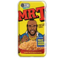 Mr T Cereal iPhone Case/Skin