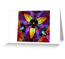 Leaf Triangle Greeting Card