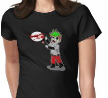 Zombie! Womens Fitted T-Shirt