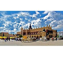 KRAKOW - TOWN SQUARE Photographic Print