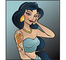 Disney Princesses with attitude - Jasmine Photographic Print