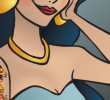 Disney Princesses with attitude - Jasmine Sticker