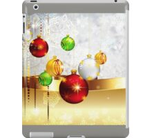Grey Background with Colorful Balls 2 iPad Case/Skin