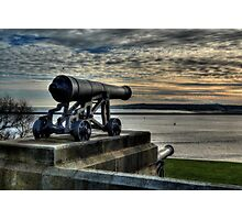 Collingwood Monument Cannons Photographic Print