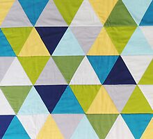 Triangle quilt by Bekahdu