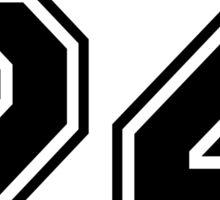 Stilinski 24 Sticker