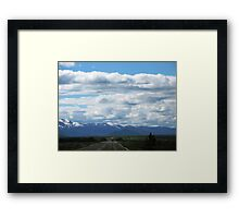 Wyoming Road Framed Print