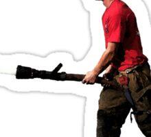 Find them hot, Leave them wet - Firefighter Sticker