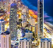 Surfers Paradise From Q1 by Phillip Hardy