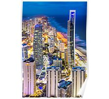Surfers Paradise From Q1 Poster